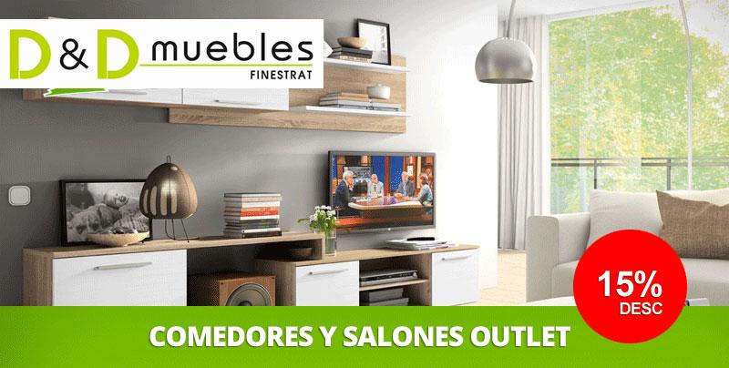 Ofertas de Muebles de Salón Comedor en Benidorm y Finestrat